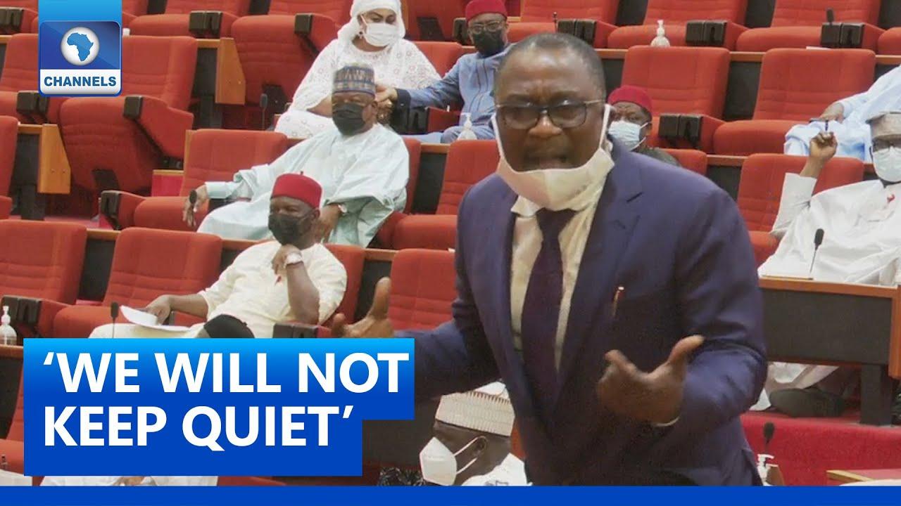 Download Full Video: Smart Adeyemi Weeps On Senate Floor