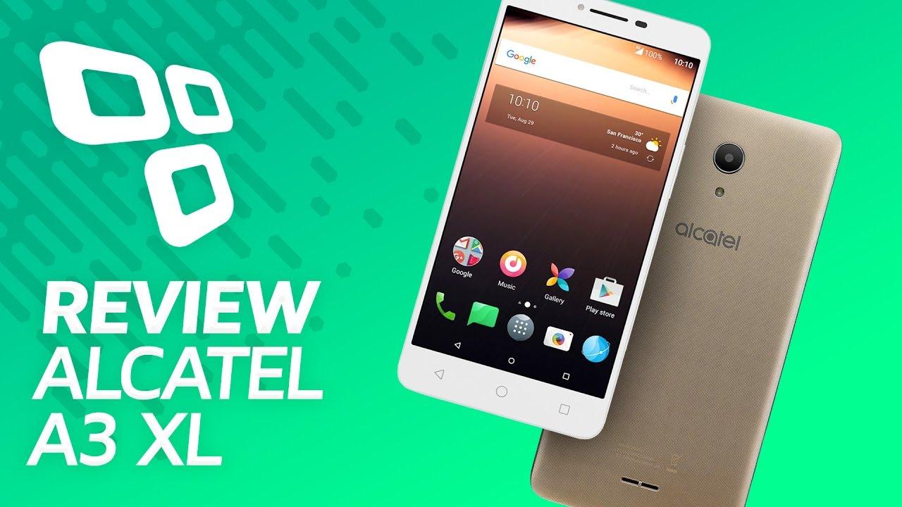 36927d1e29 Alcatel A3 XL - Review   Análise - TecMundo - YouTube