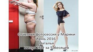 Похудеть на 25кг. Отчетная фотосессия у Марики