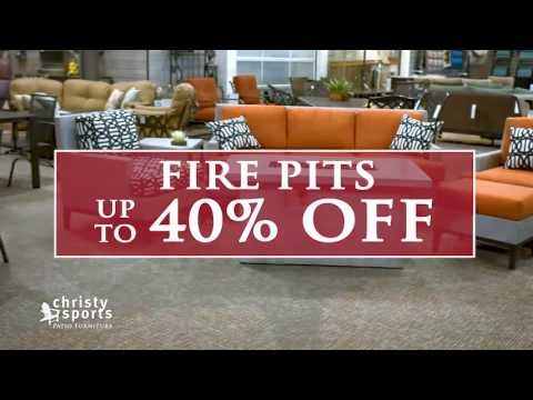 Christy Sports Mid Summer Patio Furniture Sale
