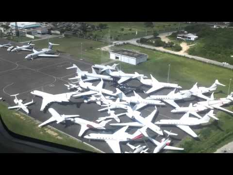 Anguilla takeoff