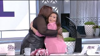 Adrienne and Loni Demonstrate Proper Hugging Protocol