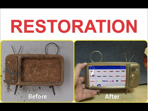Restoration ancient TV
