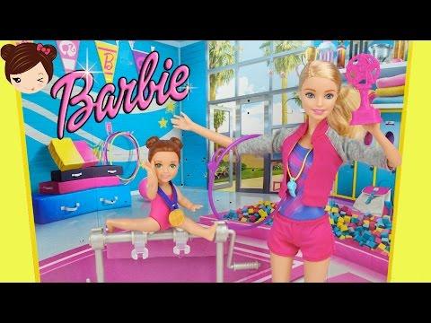 Mini Barbie De Y Gimnasia Entrenadora Serie Juguetes En MSzVpU