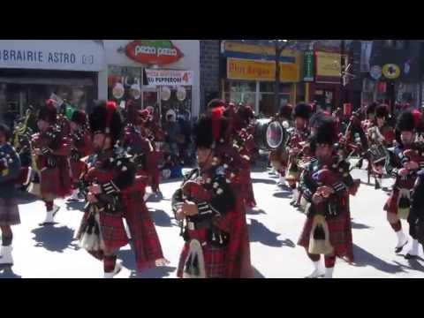 Saint Patrick Montréal par -10° C .....