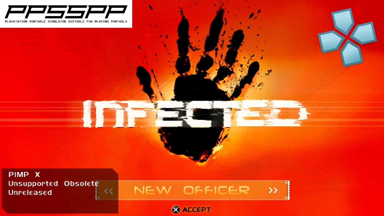 Infected psp