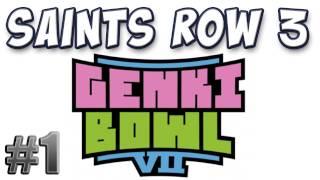 Yogscast - Saints Row 3: Genki Bowl VII DLC Part 1