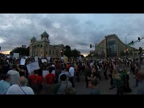 State Capitol protest following Philando Castile verdict!