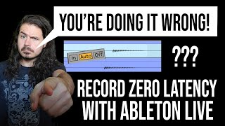How to Record Witнout Latency in Ableton Live