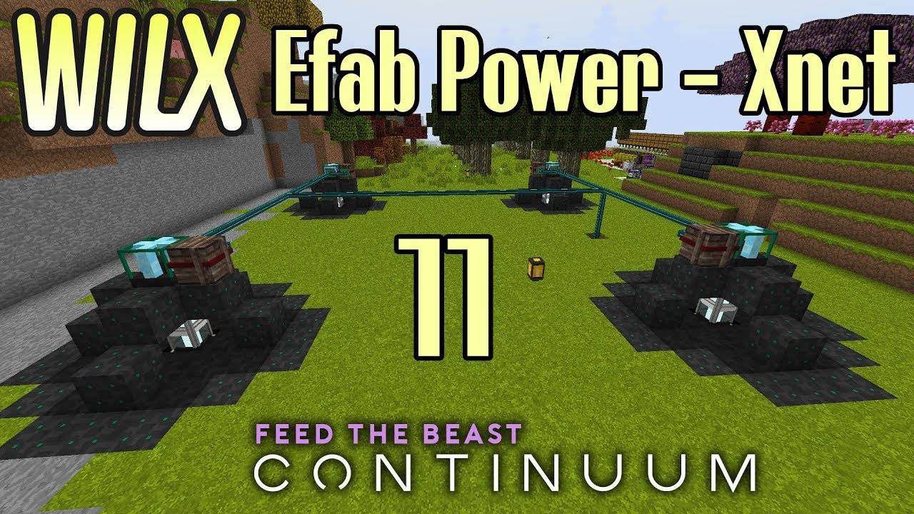 11 - Mining Bee, Assassin Bee Gun, Efab Power, Void Miners, Xnet - FTB  Continuum by Wilx