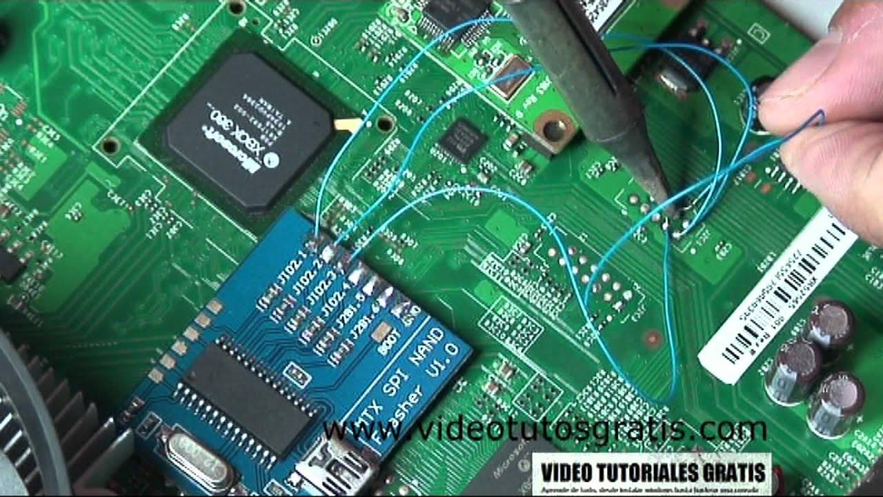 1/4 Tutorial Completo Instalación Reset Glitch Hack (RGH) en Xbox 360 Slim