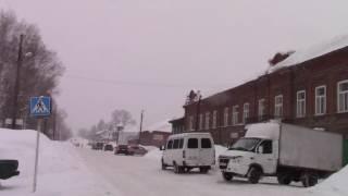 Чердынь в феврале(В конце февраля в Прикамье сильнейшие снегопады., 2017-02-28T09:13:34.000Z)