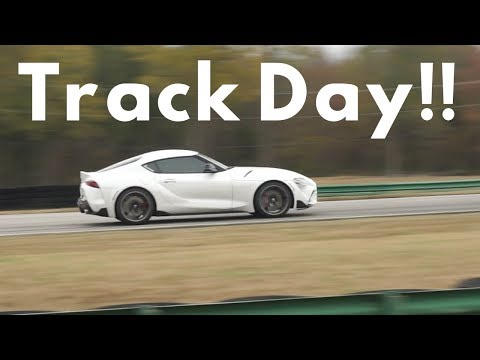 2020 Toyota Supra Track Driving Review, Acceleration and Reaction: Chasing Nissan 370Z!