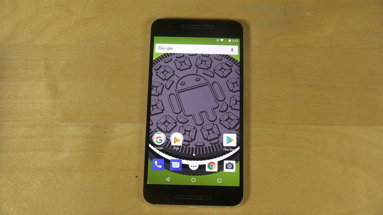 Android Oreo 8 0 Look: Nexus 6P Android 8.0 Oreo