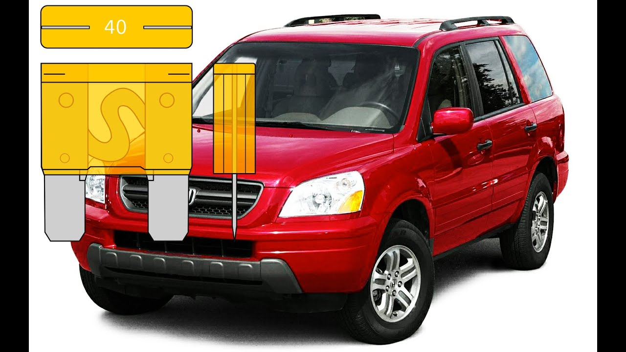Fuse Box Location On A 2003 - 2008 Honda Pilot