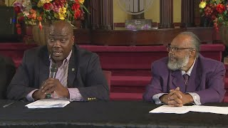 Atatiana Jefferson's Father Holds News Conference After Ordering Stop To Daughter's Funeral, Burial