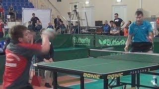Alexey ULANOV vs Nikita PAMSHEV Russian Club Premier League 4 Tour Table Tennis