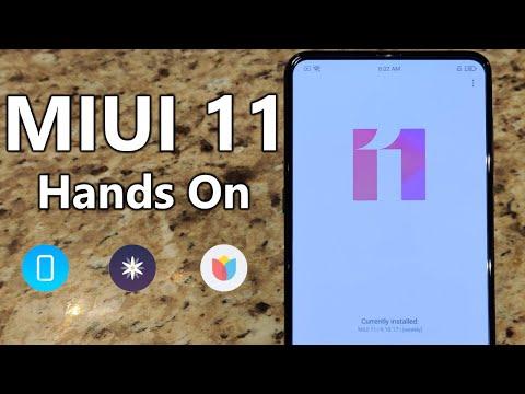 MIUI 11 Android 10 First Look - Xiaomi.EU Weekly Beta ROM - Xiaomi Mi Mix 3