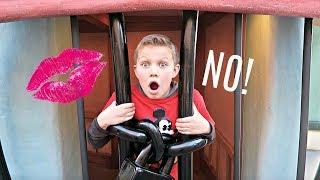 DON'T GET KISSED AT DISNEYLAND! | Hide and Seek