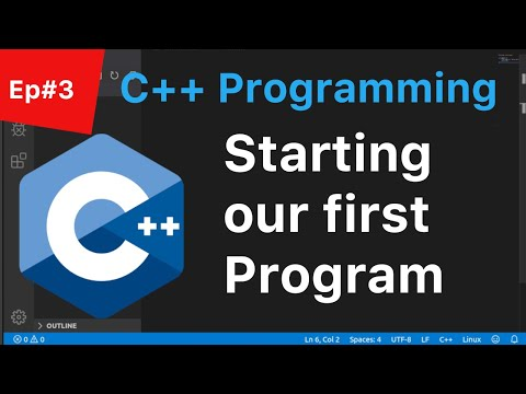 C++ Tutorial for Beginners #3: Start of our List Program using Visual Studio Code | 2019 | (Linux) thumbnail