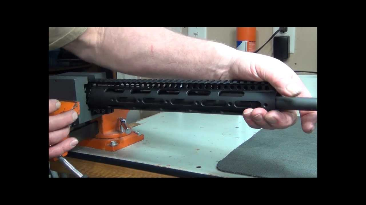 Installation Of The Gen 2 Ss Free Float Handguard Youtube