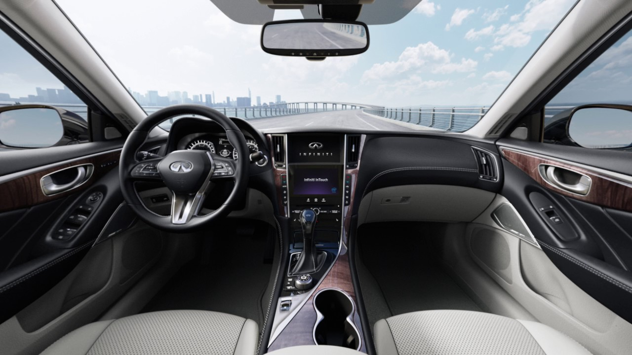 2018 Infiniti Q50 Navigation System Overview If So Equipped