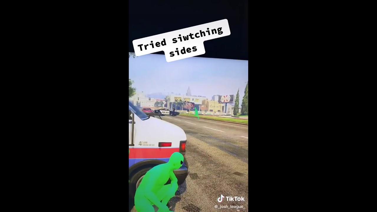 Best Of Green Vs Purple Gang GTA 5 War V.2 Tiktok Memes Edition