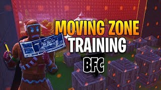 REAL MOVING ZONE TRAINING ! | * FORTNITE CREATIVE *
