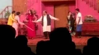 Stage drama Aj ral ke guzaran ge raat in alfllah theater BY G M 03336306380