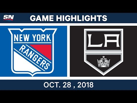 NHL Highlights | Rangers vs. Kings - Oct. 28, 2018