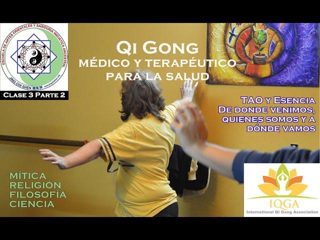Clase 3 Parte 2: TAO esencia - de dónde venimos, quiénes somos y a dónde vamos   Profesorado Qi Gong
