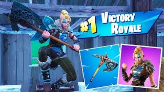 Huntress Skin And Forebearer Pickaxe Gameplay - Fortnite Battle Royale