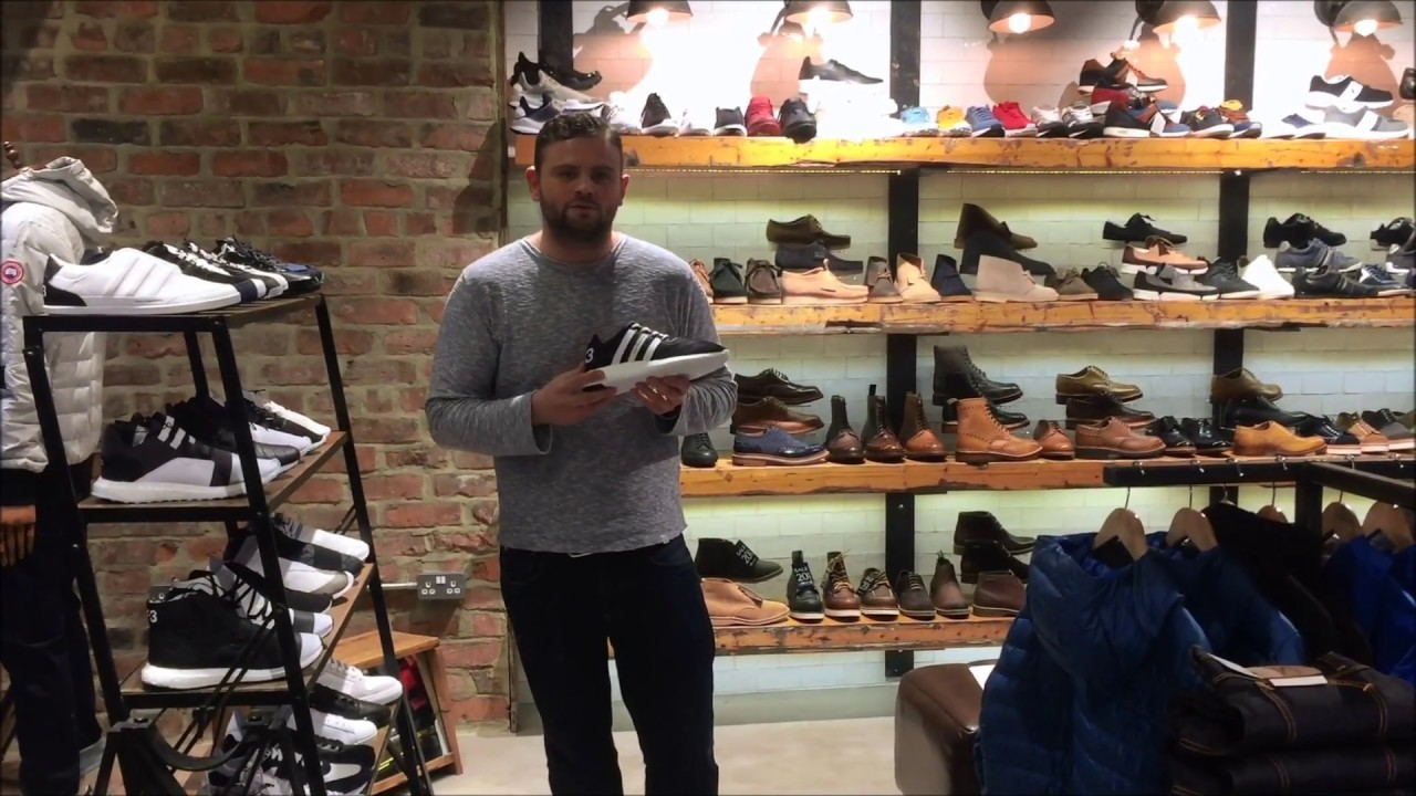 49d8d29dea35 Y3 Yohji Boost Run Trainers Review By Aphrodite Clothing - YouTube