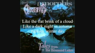 AMORPHIS - Tales From The Thousand Lakes -  Track #4 - A Black Winter Day - HD
