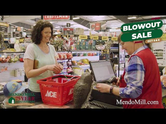 Mendo Mill & Lumber 75th Anniversary Sale