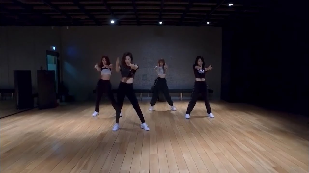 Blackpink 뚜두뚜두 Ddududdudu Dance Pratice Mirrored Youtube