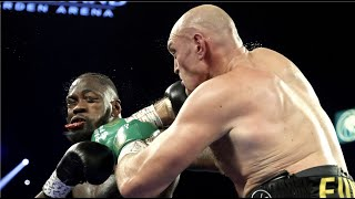 TYSON FURY BRUTALLY DESTROYS DEONTAY WILDER IN 7 ROUNDS!! NO FOOTAGE!!