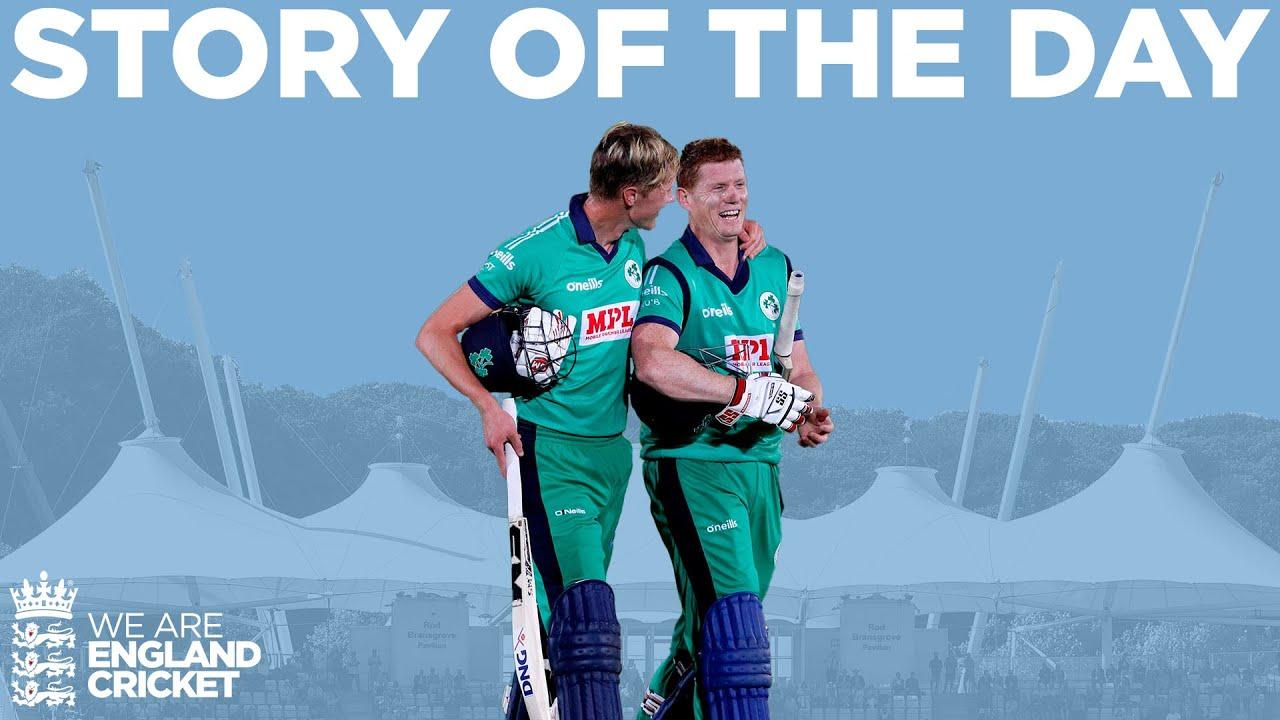 Ireland Win Final Over Thriller | England v Ireland 3rd Royal London ODI 2020