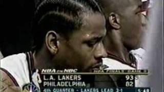 Allen Iverson 2001 NBA Final Game 5 vs Kobe Bryant Lakers