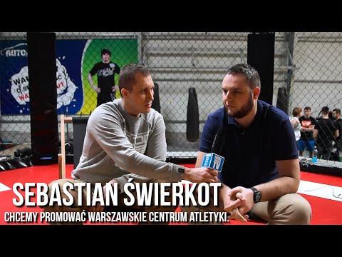 Sebastian Świerkot/Chcemy Promować Warszawskie Centrum Atletyki.