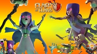 WITCH EVENT 2017 - BEST ATTACK STRATEGY TH10 AND TH11 - CLASH OF CLANS