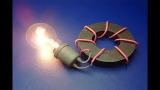 Free Energy Generator Magnet Coil 100% Real New Technology New Idea Project / At home 2019
