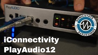 Synthfest 2017: iConnectivity PlayAudio12 Disaster Proof Live Production
