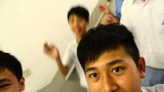 港澳信義會慕德中學學生會候選內閣 LEGO 內閣成員的跑樓梯