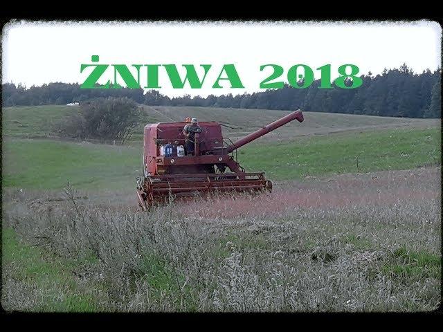 Żniwa 2018 BIZON URZUS MTZ
