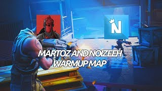 Fortnite Creative Map - Martoz and Noizeeh's Warmup Course (code in desc.)