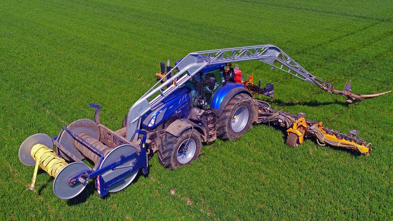 Slurry Team Blue Power | 2x New Holland T7 315 HD | Aarnink & Ooms