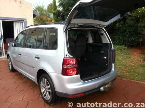 2008 volkswagen touran 1 9 tdi auto for sale on auto trader south africa youtube. Black Bedroom Furniture Sets. Home Design Ideas