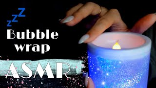 BUBBLE WRAP ASMR //TRIGGERS FOR RELAX AND ASLEEPING / tapping, scratching and more
