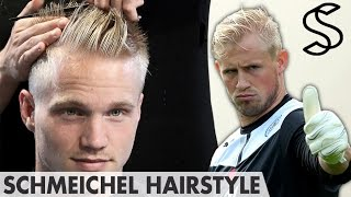 Kasper Schmeichel Hairstyle - Sporty Short Mohawk - Men hair inspiration